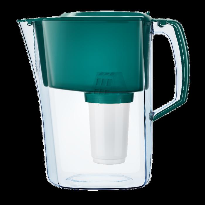 AQUAPHOR Amethyst Wasserfilter mit 1 Original B25 Maxfor Kartusche Pitcher//Krug f/ür Trinkwasser Farbe: gr/ün//gr/ün