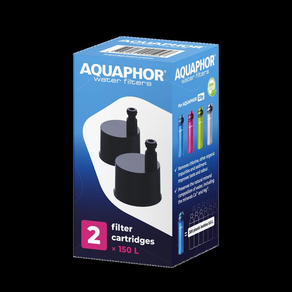 Wkłady filtrujące do butelki AQUAPHOR City-1